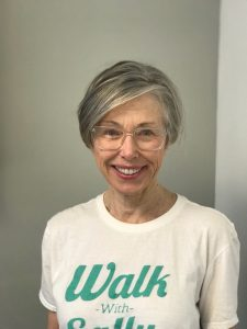 Walk With Sally volunteer Janet Page