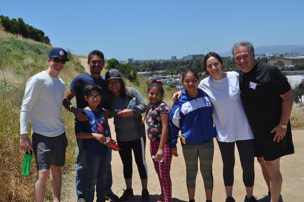 Virgen Family at Walk With Sally's Friendship Activity Hike